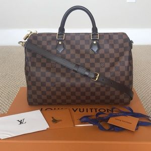 💯Authentic Louis Vuitton Speedy Bandouliere 35